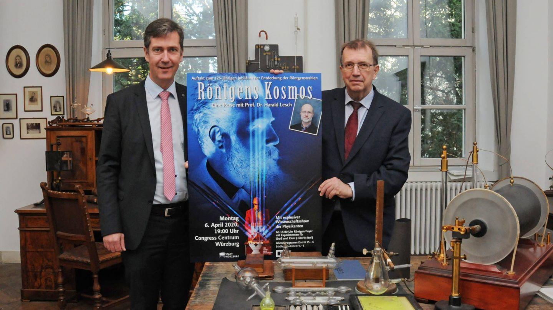 Auftakt zum Röntgen-Jubiläumsjahr: Kartenvorverkauf für Show mit Harald Lesch gestartet