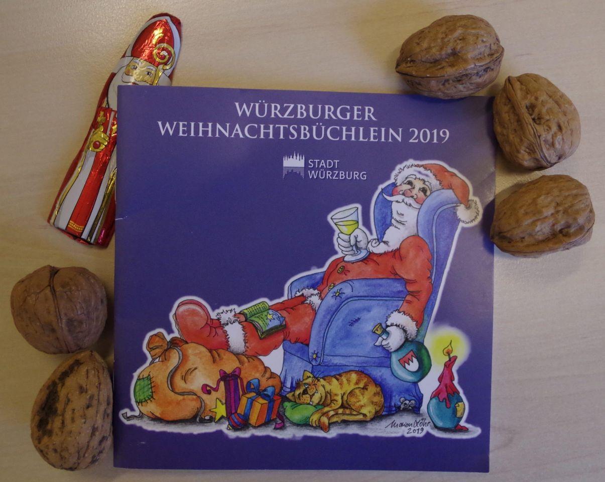 Offenes Weihnachtssingen im Rathaushof: Alle Texte und vieles mehr im Würzburger Weihnachtsbüchlein