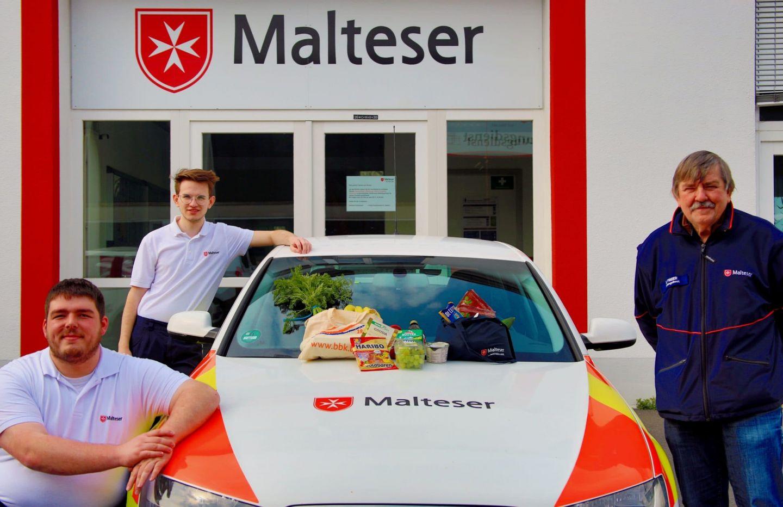 Malteser bieten in Würzburg kostenlosen Einkaufsservice an