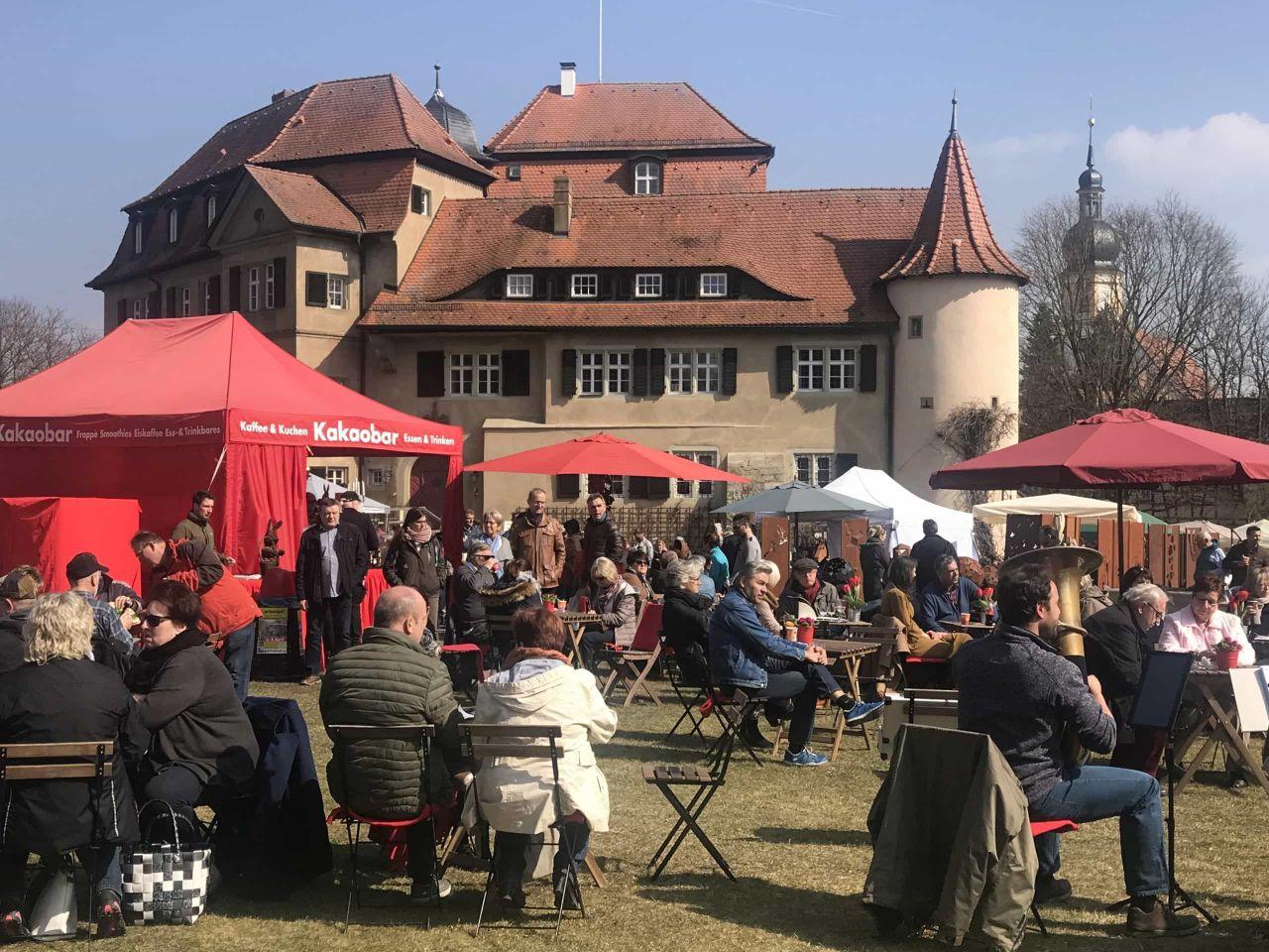 """Messe """"Gartenlust"""" rund um Schloss Rüdenhausen: wob verlost Freikarten (leider ausgefallen)"""