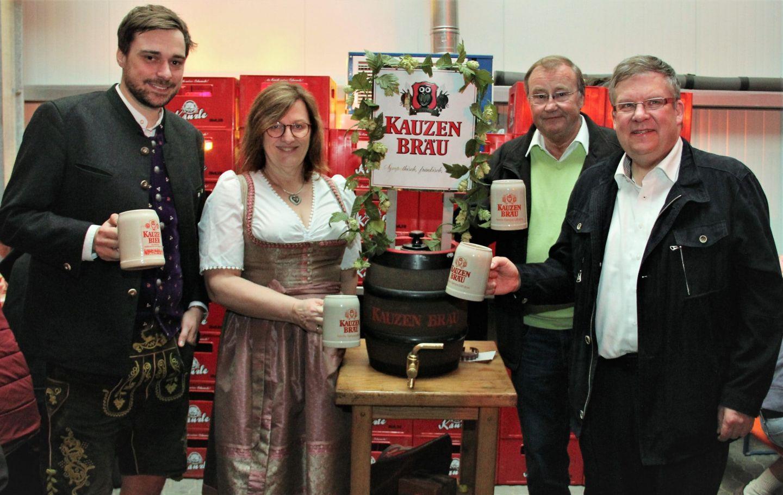 Flüssiges bricht Fasten nicht: Doppelbockbierfest der Kauzen Bräu am 28. März