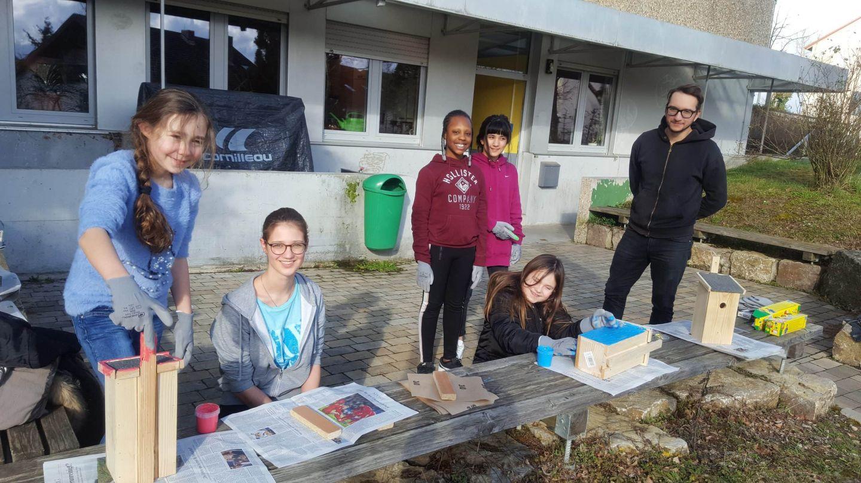 Gegen die tierische Wohnungsnot: Aktion im Kids Club Gerbrunn