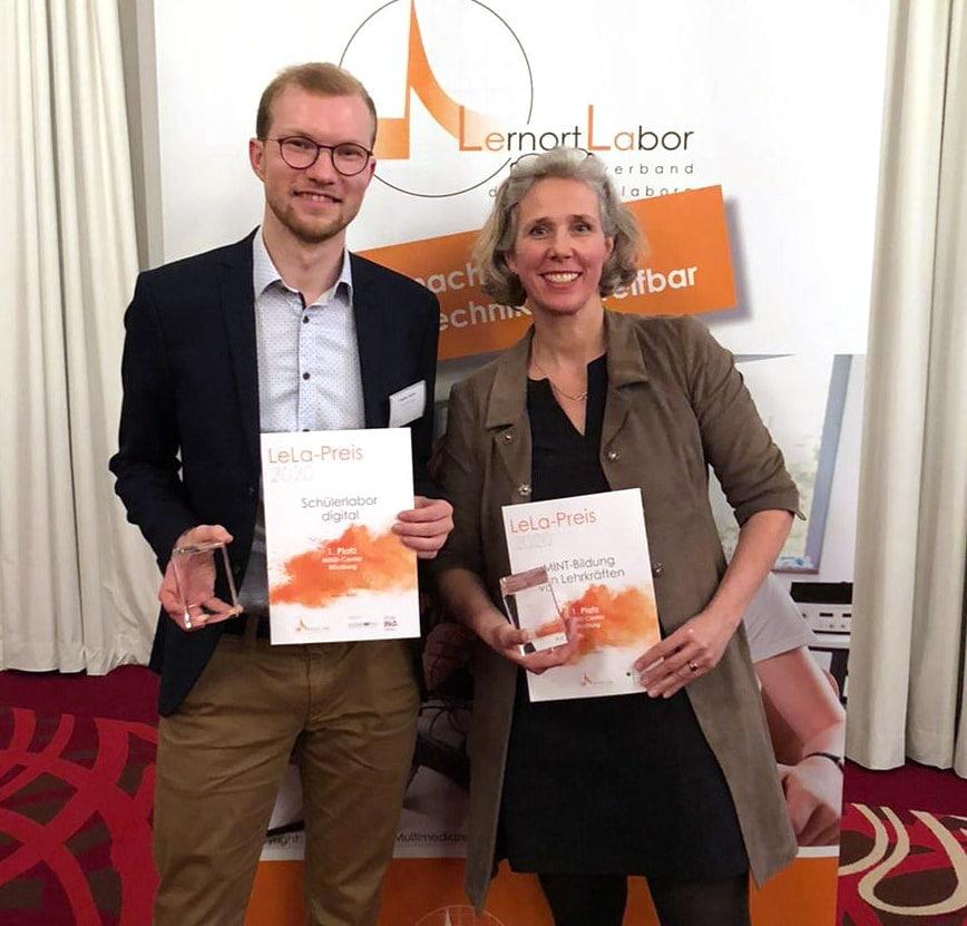 Theorie trifft Praxis und Spaß: Doppelte Auszeichnung fürs M!ND-Center der Uni