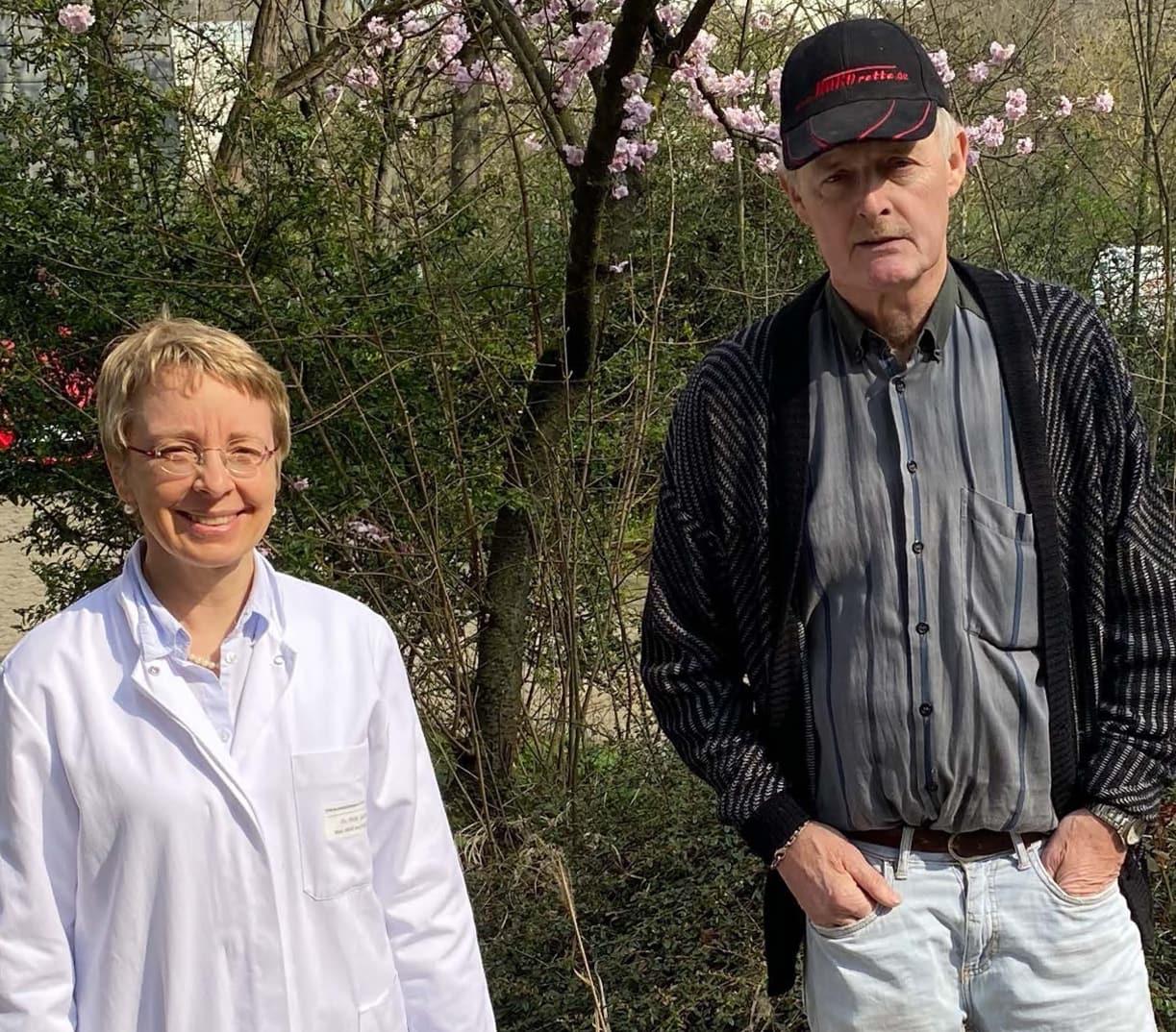 Betroffener spendet für die Myelom-Forschung am Uniklinikum Würzburg