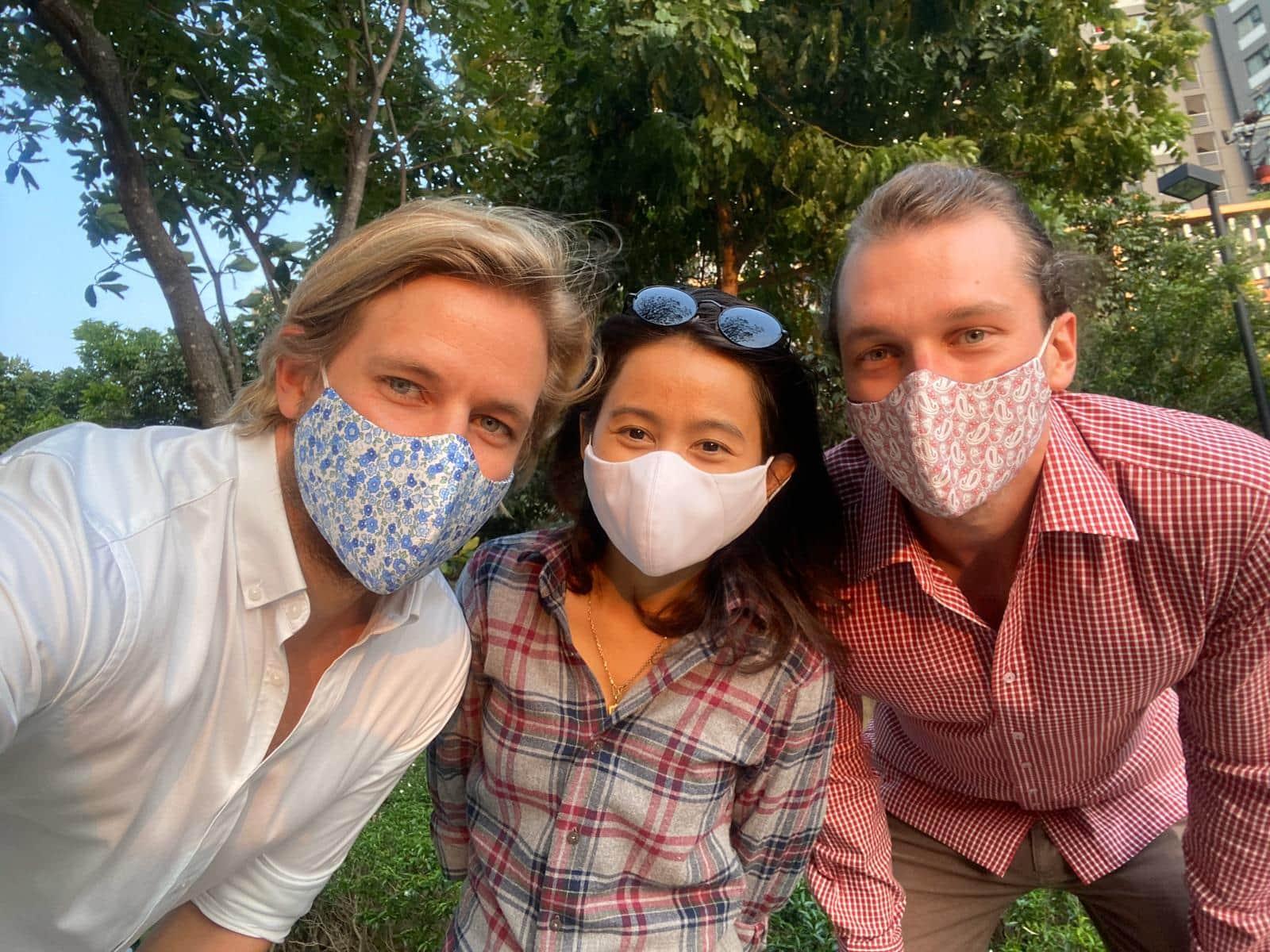 Ansteckquote senken und Mitmenschen schützen: Befeni bietet individuelle Gesichtsmasken