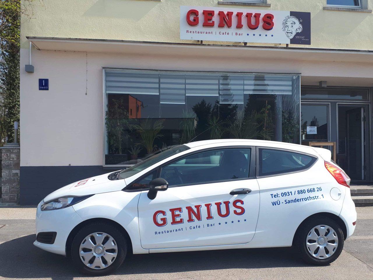 Griechisches Restaurant GENIUS – Lieferservice bringt Leckeres nach Hause