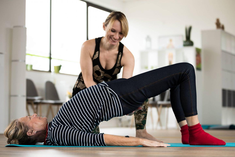 Pilates, Yoga und Entspannung als Online-Kurse im Livestream auf www.sabine-kreiss.de