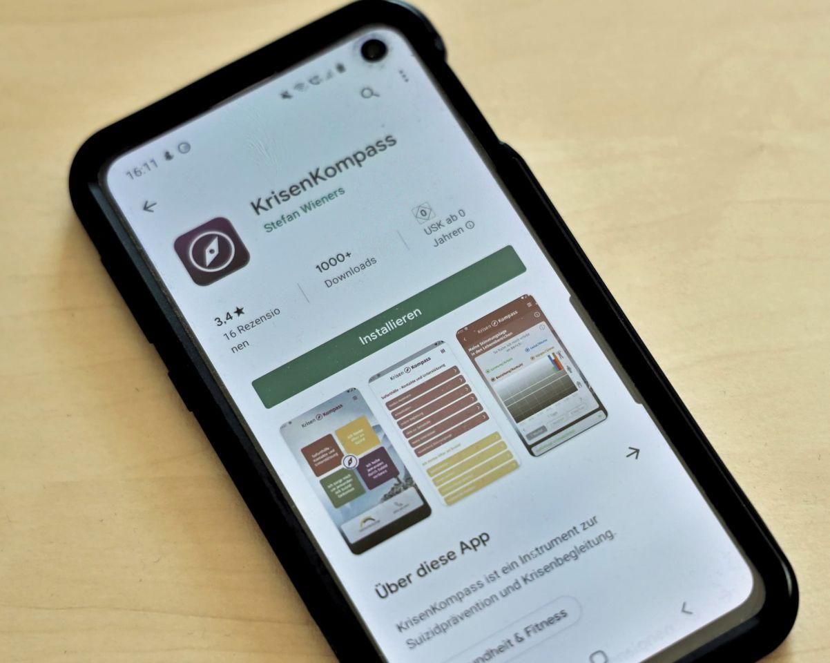 """Telefonseelsorge: Krisenkompass-App als """"Notfallkoffer für die Hosentasche"""""""