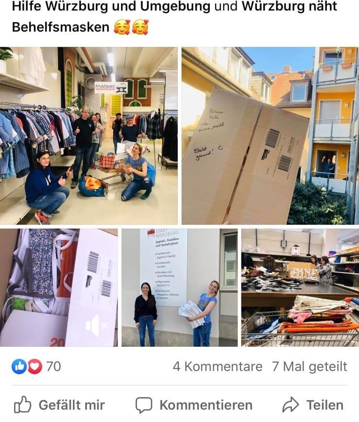 Wue-Care: Würzburger tun sich in der Krise zusammen