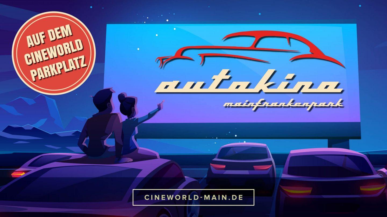 Film ab im Autokino Mainfrankenpark
