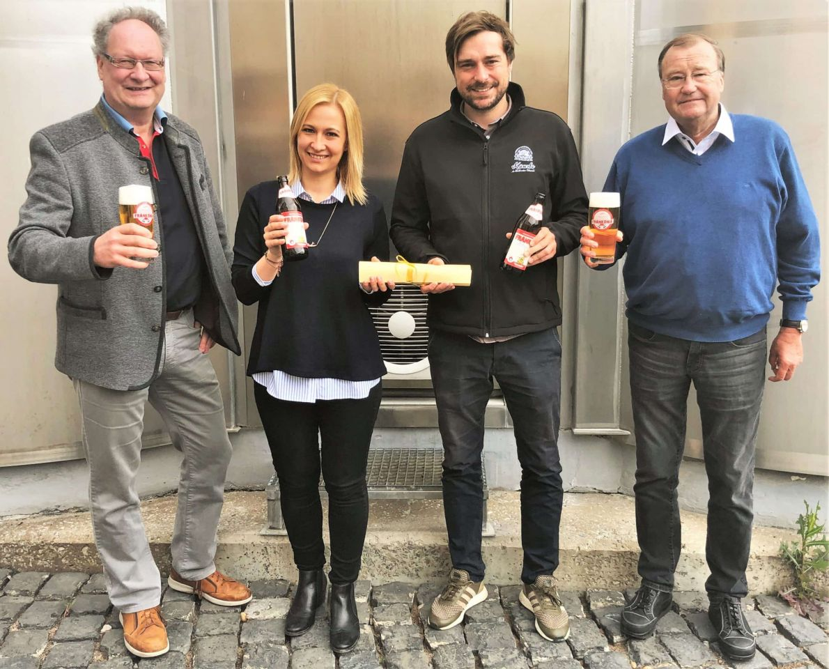 Nach dem Aus der Wernecker Bierbrauerei: Frankonia-Biere kommen ab Oktober von der Kauzen Bräu