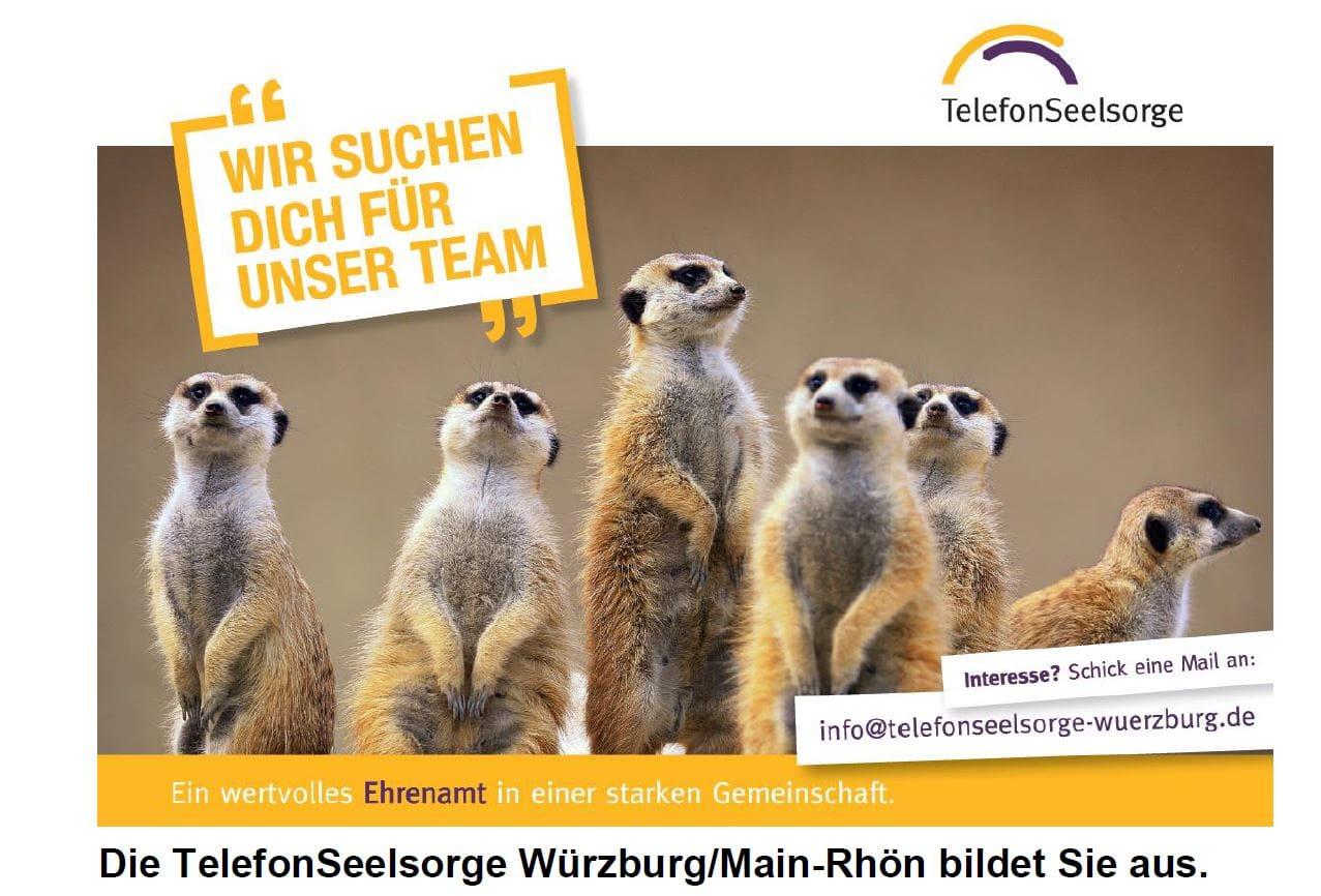TelefonSeelsorge Würzburg sucht neue Mitarbeiter