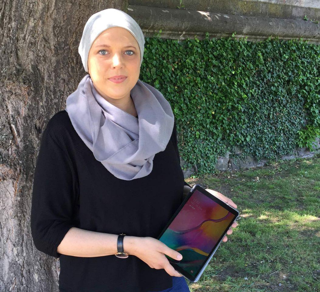 Videobesuche für Krebspatienten mit gespendeten Tablet-PCs