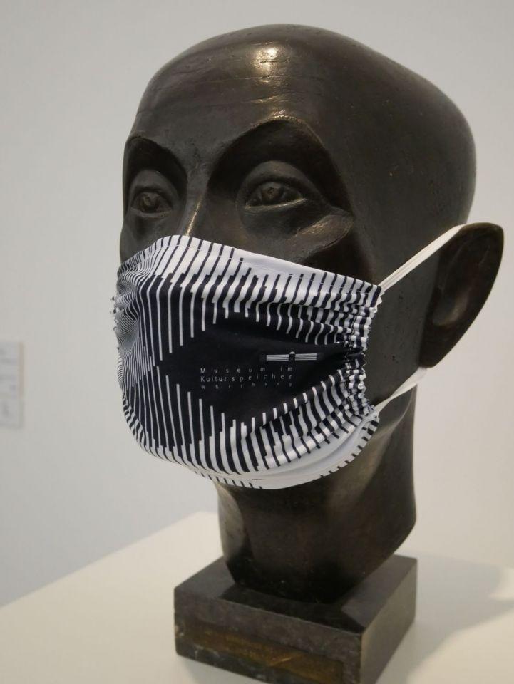 Schutz konkret: Museum im Kulturspeicher bietet Gesichtsmasken an