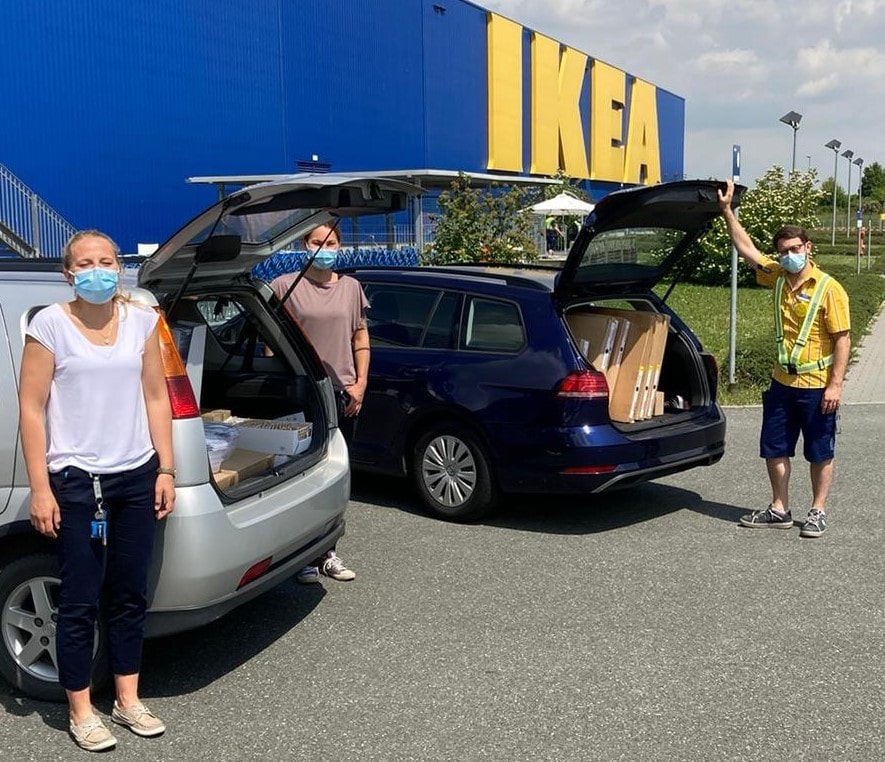 """""""Wir packen das gemeinsam"""": IKEA unterstützt Kontaktcafé Flow in Würzburg"""