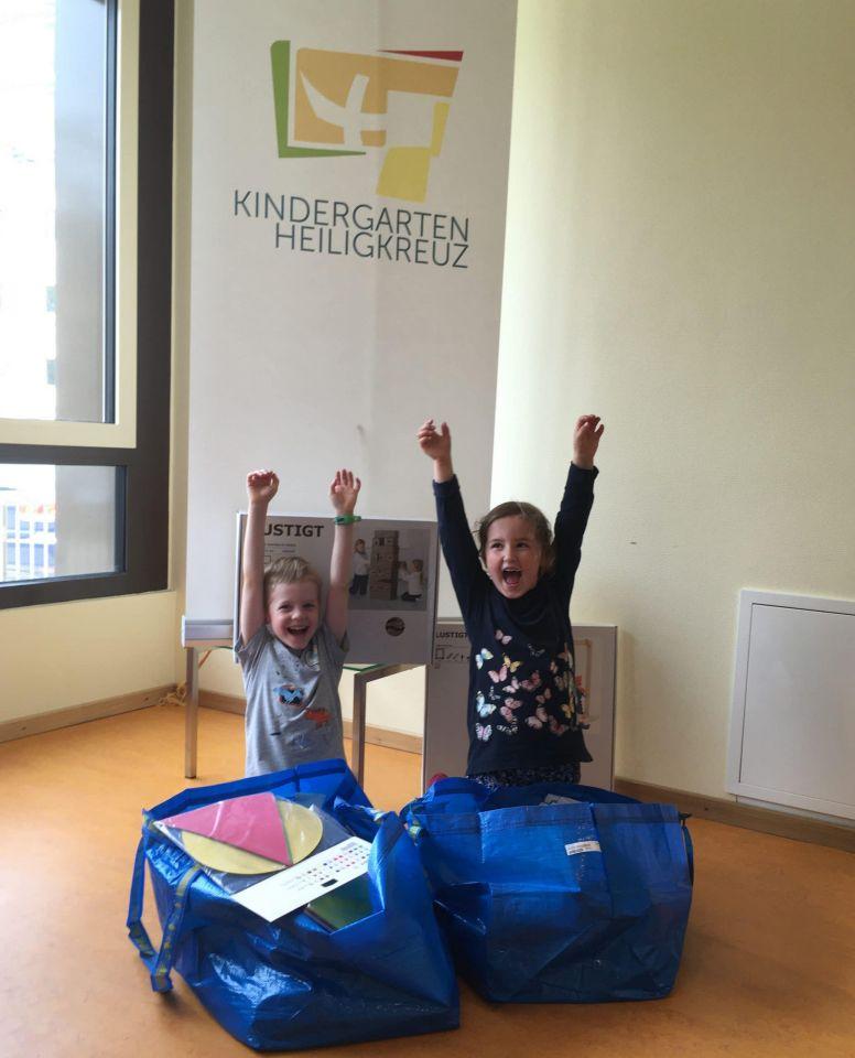 """""""Wir packen das gemeinsam"""": IKEA unterstützt die Kita Heiligkreuz in der Zellerau"""
