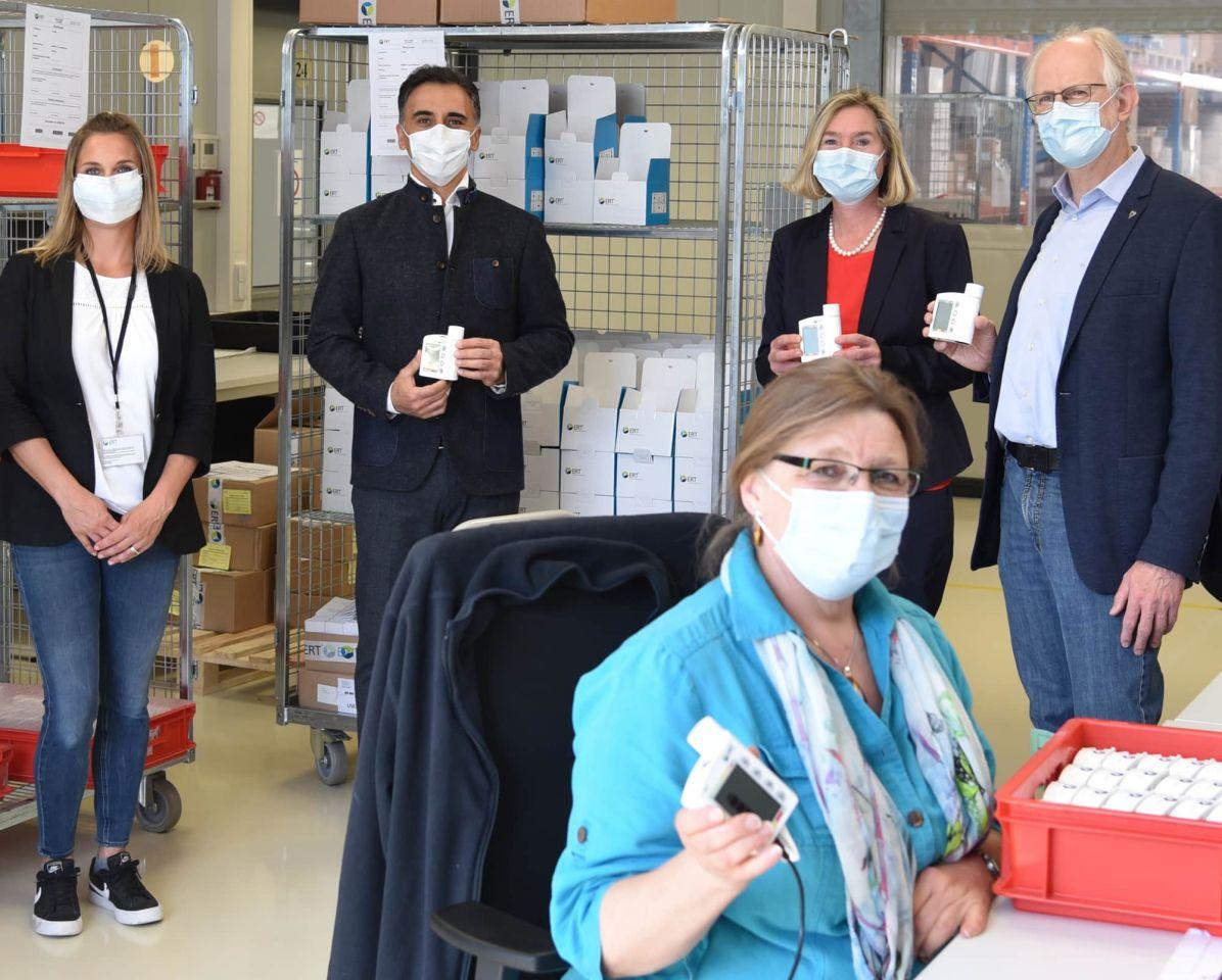 Uniklinik: Gespendete Lungenfunktionsmessgeräte unterstützen Telemedizin bei Mukoviszidose