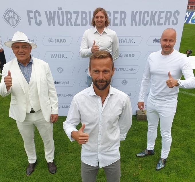 Vorfreude auf die Zweite Liga: Michael Schiele bleibt Cheftrainer der Würzburger Kickers