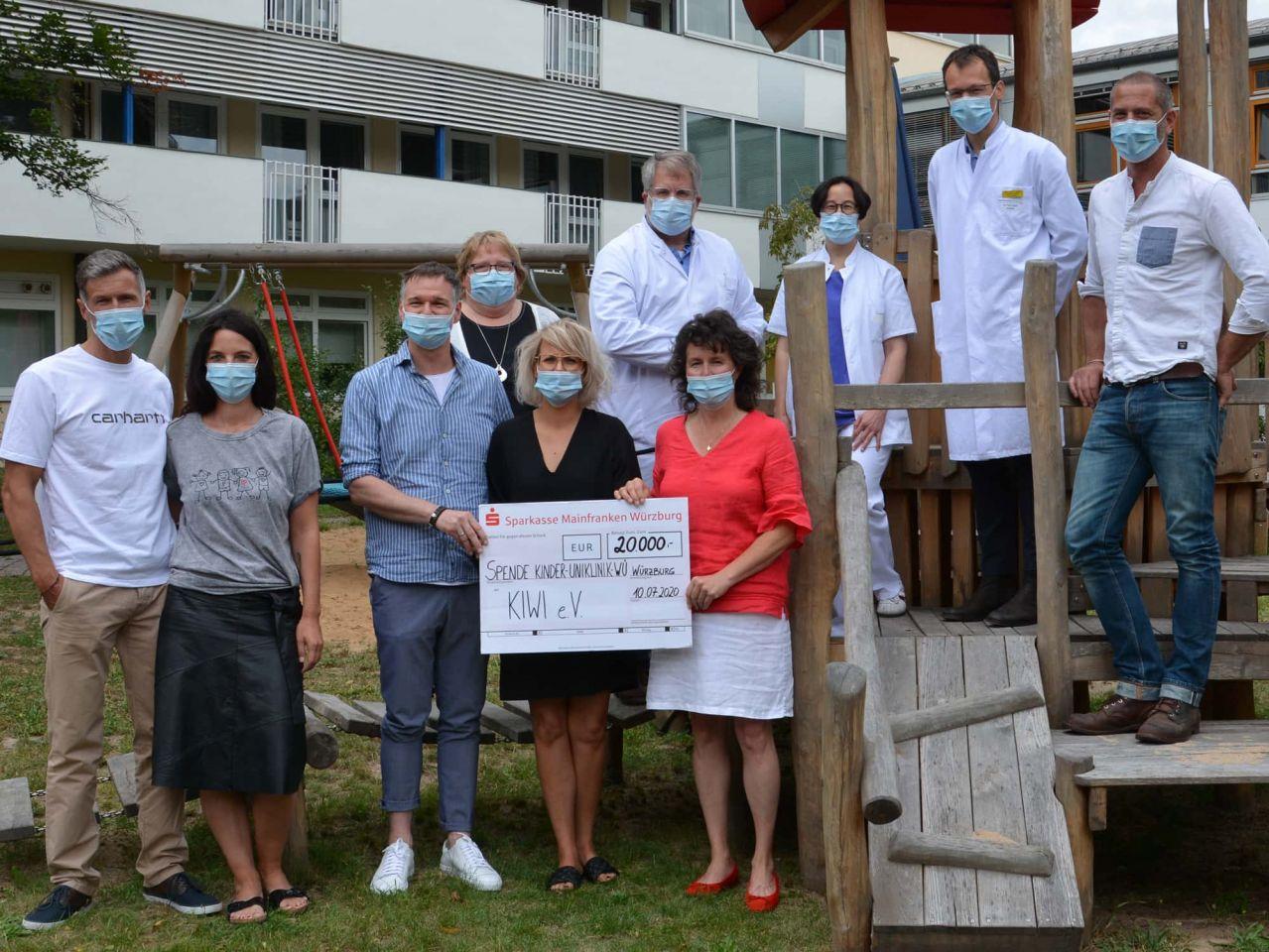 Pablos Vermächtnis: Bewegende Spendenaktion brachte 20.000 Euro für den Verein Kiwi