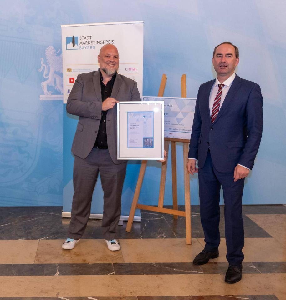 WümS holt zweiten Platz beim Bayerischen Stadtmarketingpreis