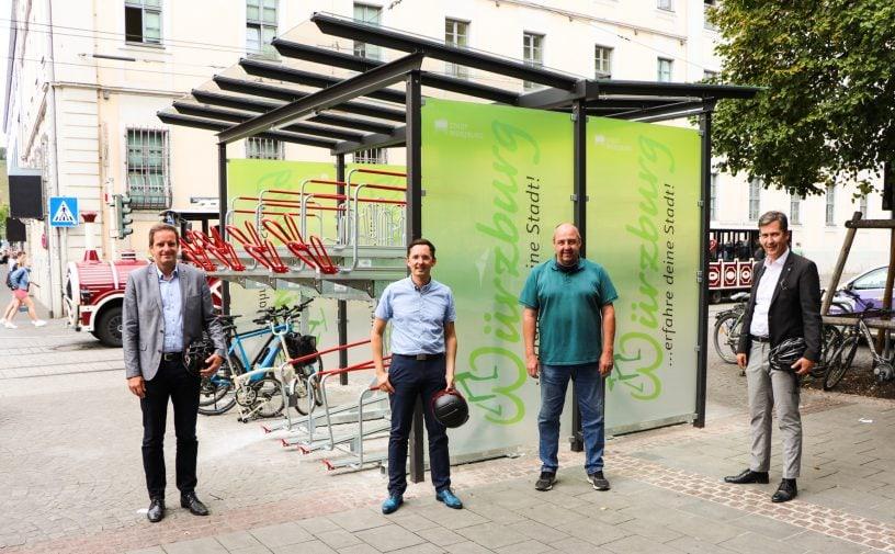 Fahrradgarage Juliuspromenade Wuerzburg