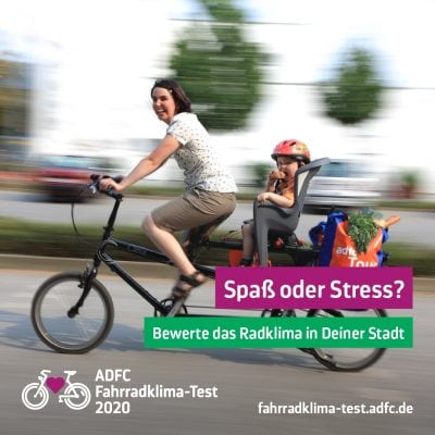 Fahrradklima Test Wuerzburg