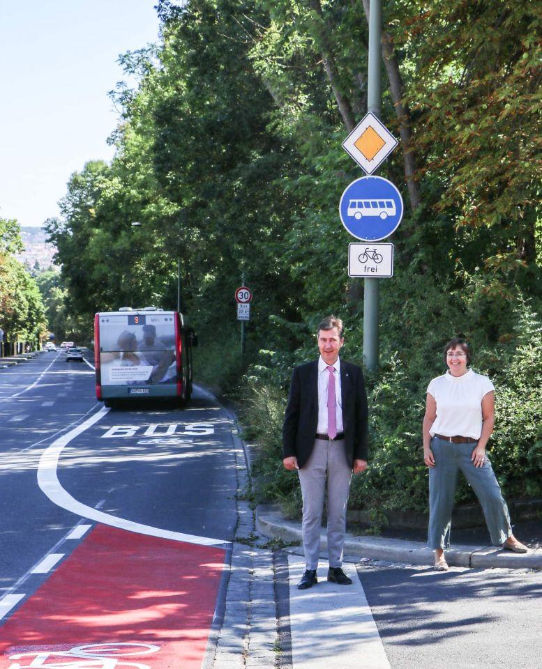 Hoechberger-Strasse-Busspur