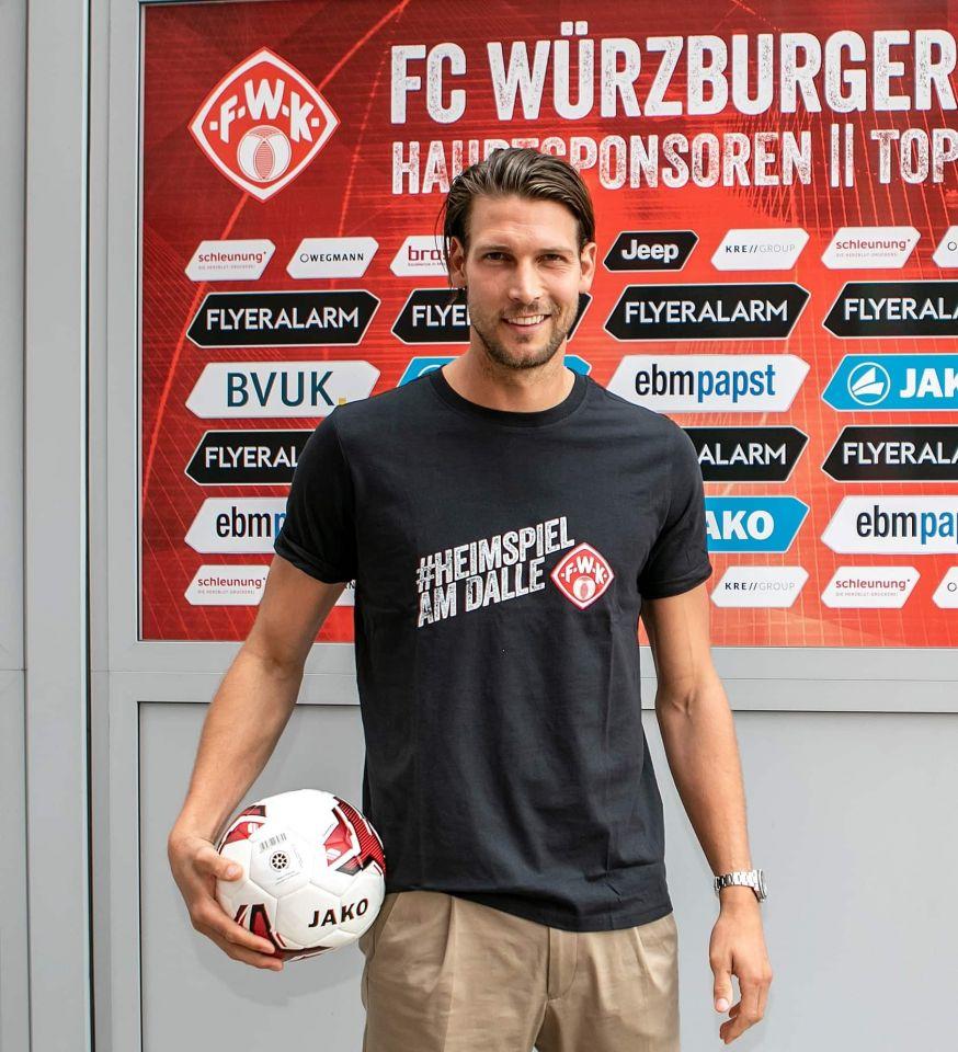Fabian Giefer wechselt vom FC Augsburg an den Dallenberg