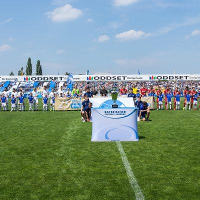 Toto Pokal Kickers Wuerzburg Aschaffenburg