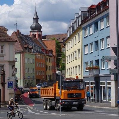 Zeller Strasse Einbahnstrasse
