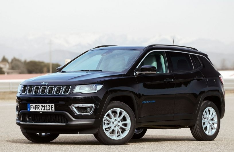 Test Jeep Compass 4xe