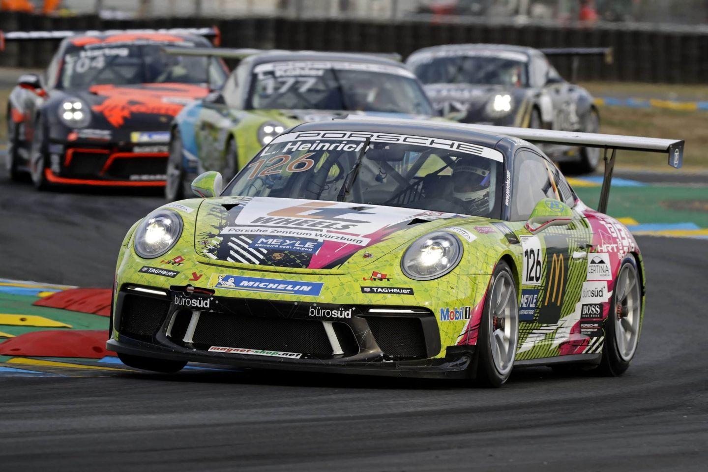 Laurin Heinrich Porsche Carrera Cup