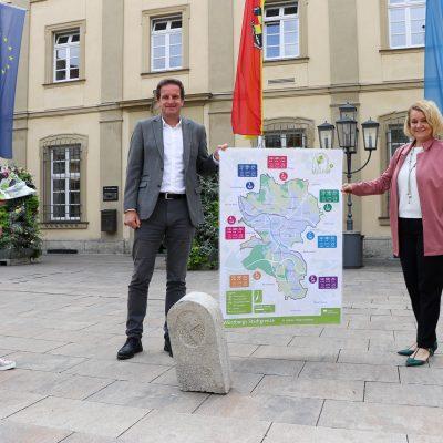 Wuerzburg Stadtgrenze Wandern