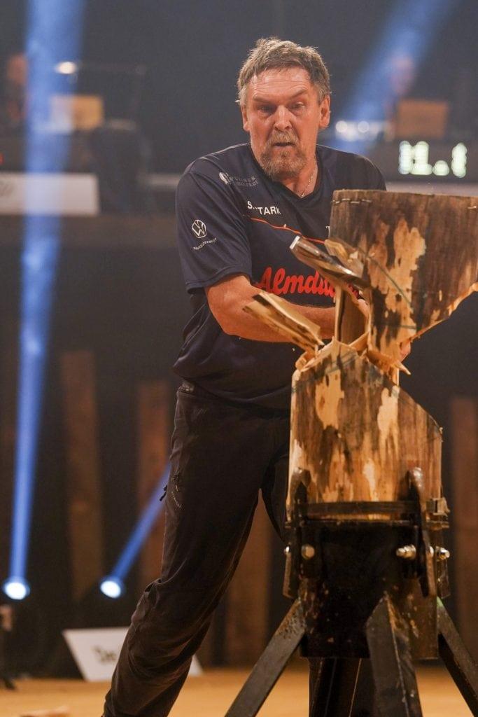 Deutsche Meisterschaft Sportholzfaeller Stefan Stark