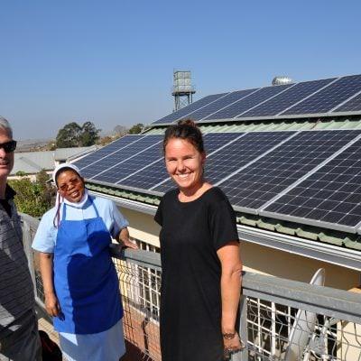 Kinderheim Afrika Schwestern Oberzell
