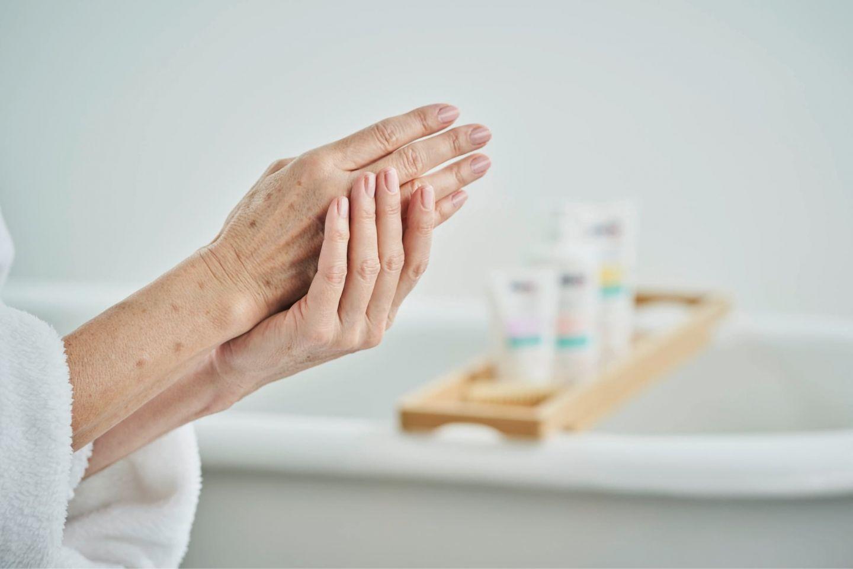Altersflecken Senioren Vorsorge