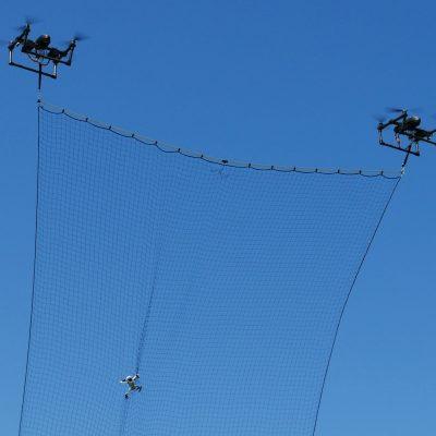 Uni Wuerzburg Drohnen fangen