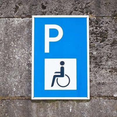 Verkehrswacht Wuerzburg Behindertenparkplatz