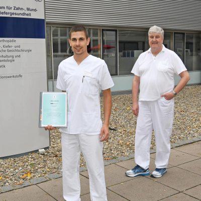 Beruf Zahnmedizin-Preis Goldene Hedstroem-Feile
