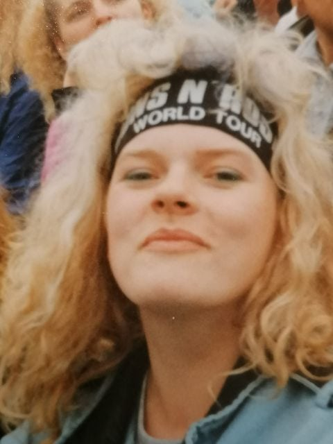 1992: Guns N´Roses  in Würzburg, November Rain im Juniregen