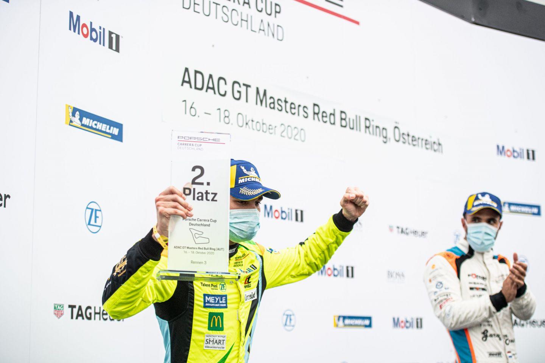 Porsche Carrera Cup: Laurin Heinrich mit drei Podiumsplätzen