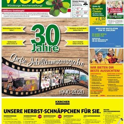 30 Jahre wob Wuerzburgs Wochenzeitung