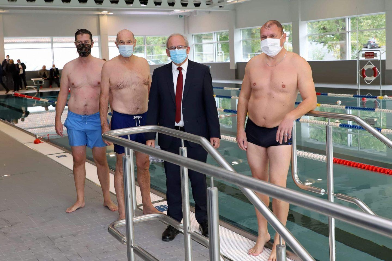 Wenn der Oberbürgermeister mit dem Landrat baden geht