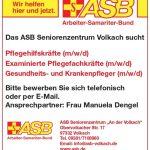 """ASB Seniorenzentrum """"An der Volkach"""""""