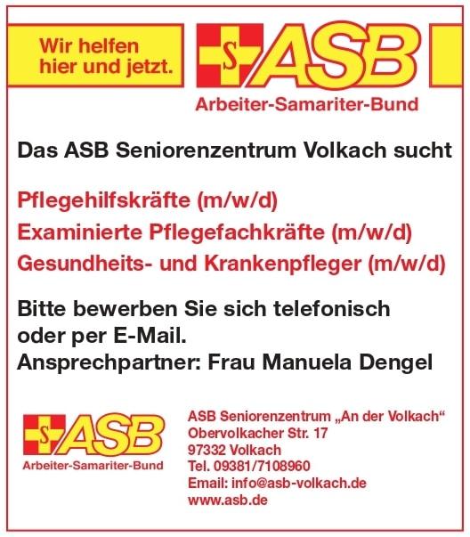 ASB Seniorenzentrum Volkach