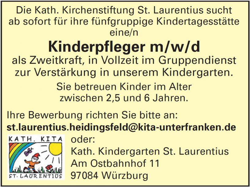 Kinderpfleger Laurentius Heidingsfeld