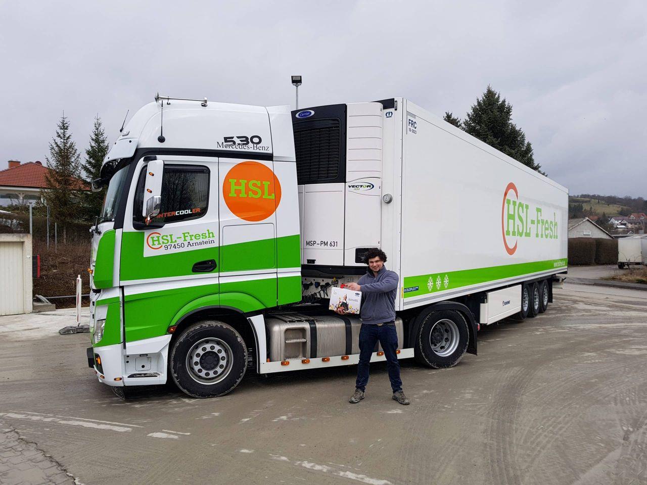 HSL-Fresh: Dieser Logistik-Partner ist total fresh