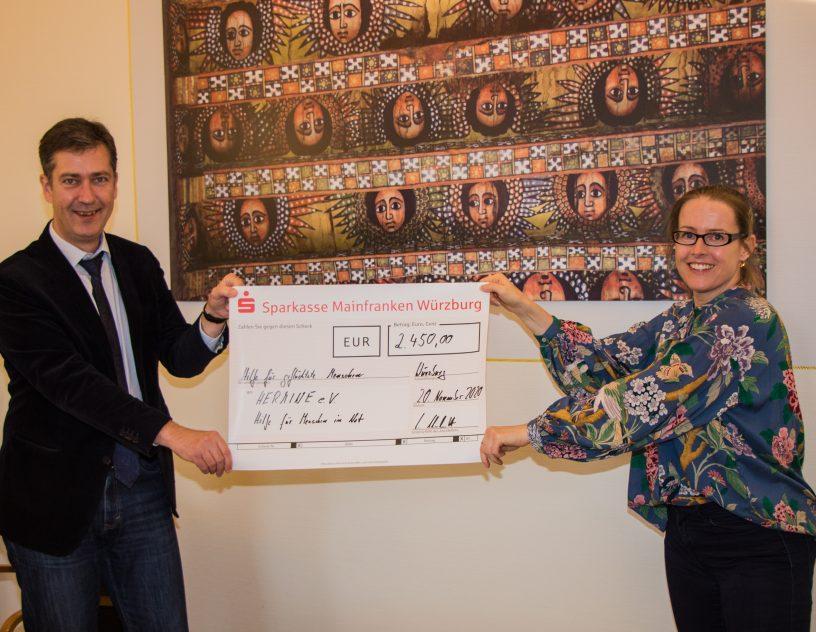 Spende AfD Flüchtlingshilfe