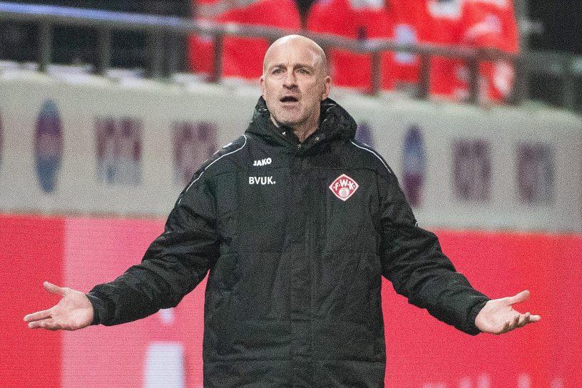 Würzburger Kickers Trainer Antwerpen