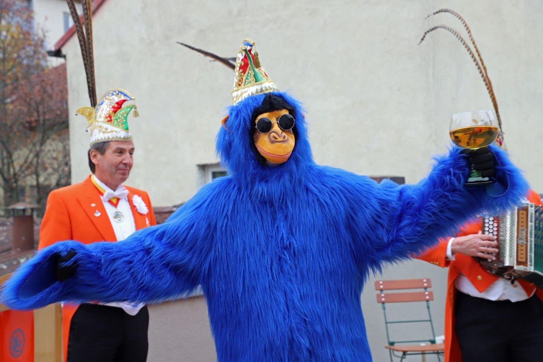 """Karnevalsgesellschaft ist auf den """"Affen"""" gekommen"""